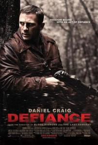 """Defiance"" is one of the few mainstream movies that depict Jewish resistance to the Holocaust.  Another good movie is ""Escape from Sobibor"" resistance"