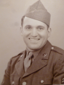 My Dad in 1945